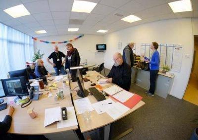 een inkijk in de redactiekamer